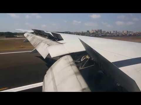 Jet Airways Boeing 777-300ER, 9W117, VT-JEQ Landing at Mumbai International Airport