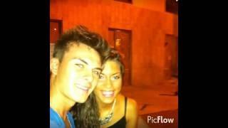 Dvicio Andres Ceballos y su novia *Andrea