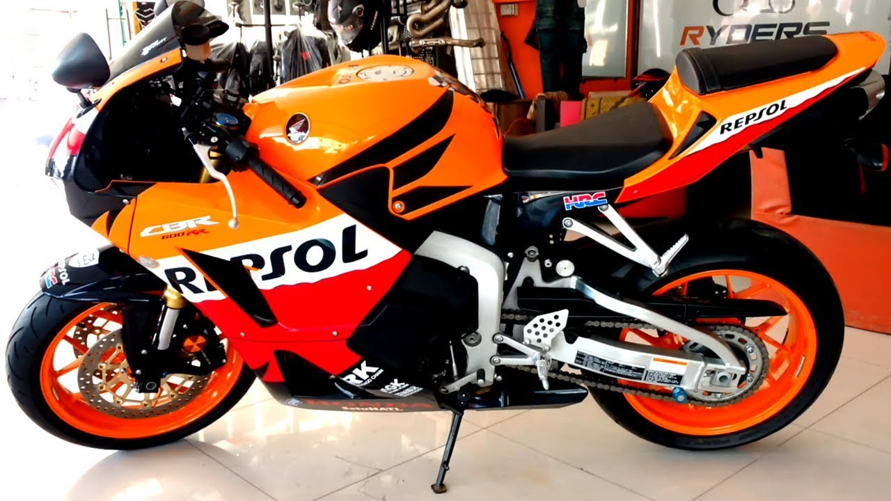 Honda Cbr600rr Repsol 2018 Import Full Review Sound Test Price In