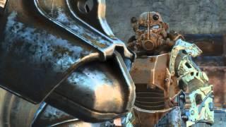 Fallout 4 - Как надеть на спутника силовую броню