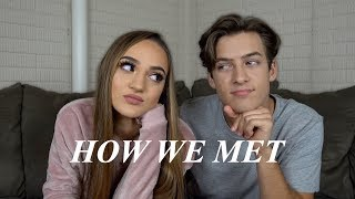 HOW WE MET & OUR FIRST KISS STORY