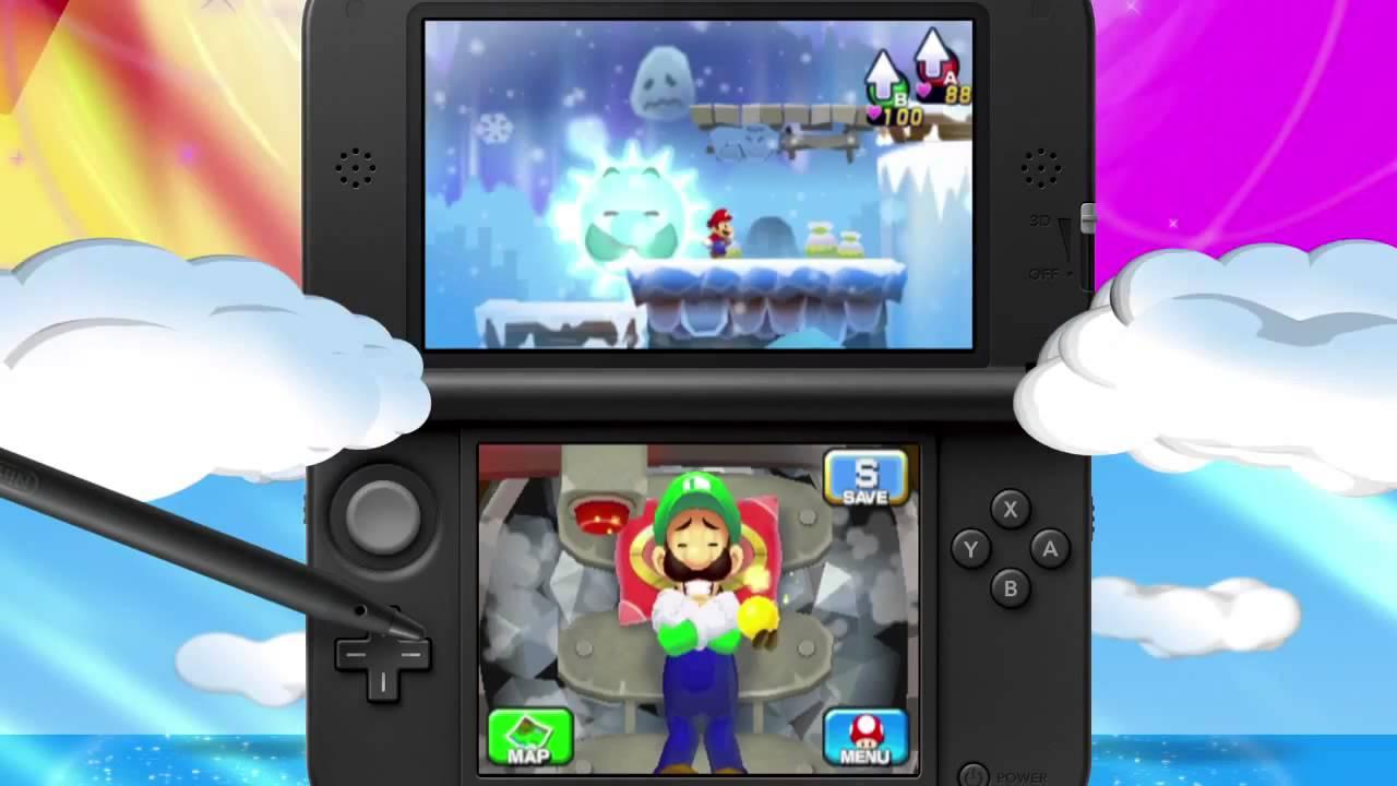 Mario Luigi Dream Team Decrypted 3ds Eur Usa Rom Download Ziperto