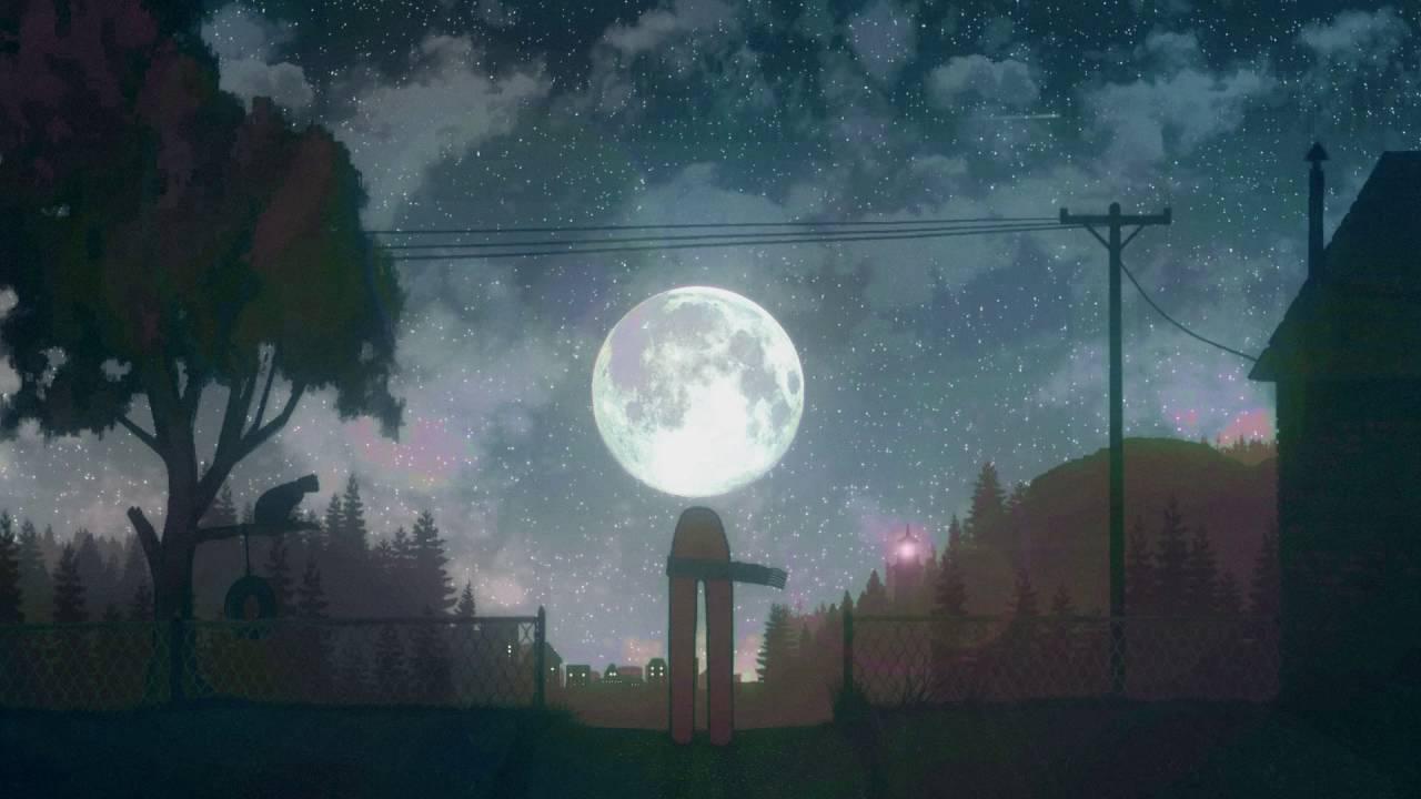 картинка луна сказочная