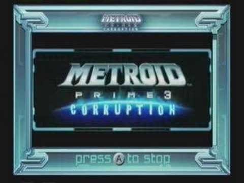 Metroid Prime 3 Wii Channels Preview Set 2