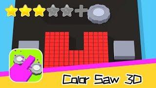 Color Saw 3D - Good Job Games - Walkthrough Super Bloody Recommend index three stars