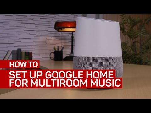 How to set up Google Home as part of a multiroom music system