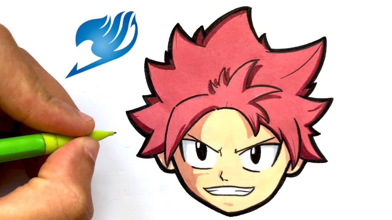 Tuto Dessin Natsu Facile Fairy Tail Manga