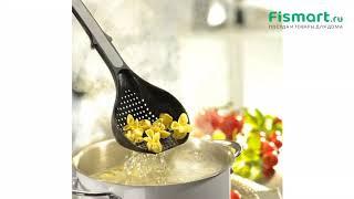 Покупки для кухни   Кастрюли: обзор Дуршлаг ложка Gefu 10910, купить   Интернет-магазин fismart.ru