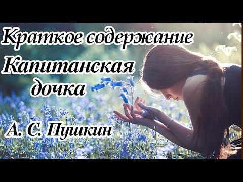 Краткое содержание Капитанская дочка, Пушкин А. С. 10 минут