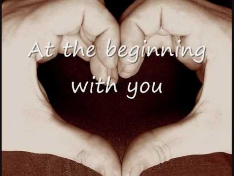 At the Beginning with Lyrics - Richard Marx and Donna Lewis