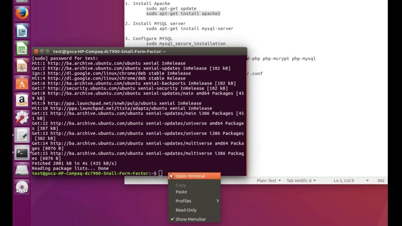 Install LAMP On Ubuntu 16.04 | Instalacija Lamp A Na Ubuntu