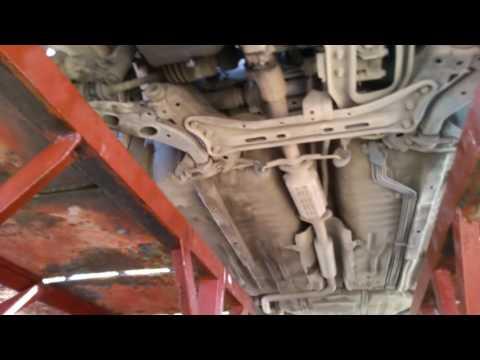 Замена масла в двигателе Мазда 626