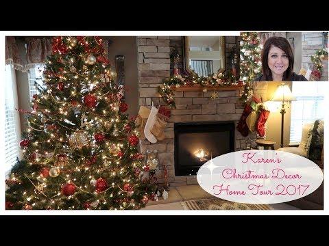 Karen's Christmas Decor Home Tour 2017 | The2Orchids