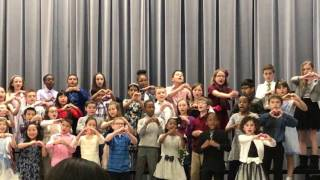 love is all you need bissell elementary 3rd grade choir