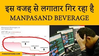 Why is Manpasand Beverages' share price falling? | Latest news and updates