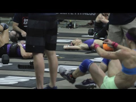 CrossFit - Jennifer Smith and Lindy Wall Share Event 4 Win