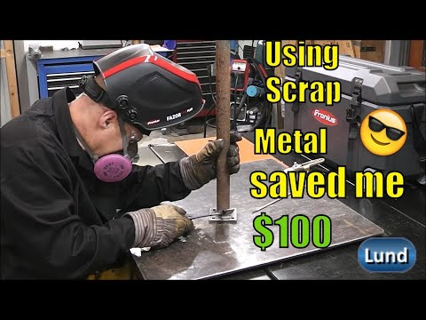 stick-welding-with-7018-home-improvement-project