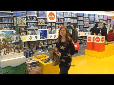 LEGO STORE shopping adventure! Chima, NinjaGo, StarWars, Castle ...