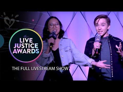LIVE JUSTICE AWARDS - OFFICIAL LIVESTREAM 💗 JUSTICE