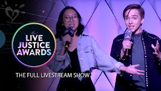 LIVE JUSTICE AWARDS - OFFICIAL LIVESTREAM 💗 JUSTICE