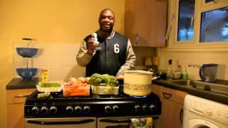 Meat Free Vegetable, Split Peas & Barley Soup Pt 1    24.4.2014
