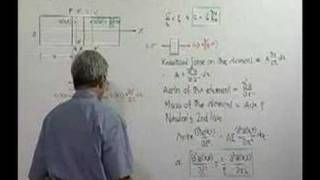 Module 13 - Lecture 1 - Vibration of Continuous Systems