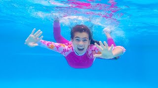 Nastya and Artem are going to swim in the pool