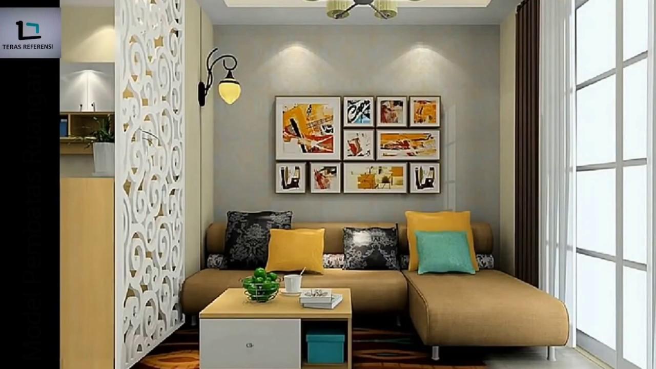 Model Skat Pembatas Ruang Tamu Dan Ruang Keluarga Modern Dan Minimalis