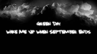 Green Day - Wake Me Up When September Ends lyrics