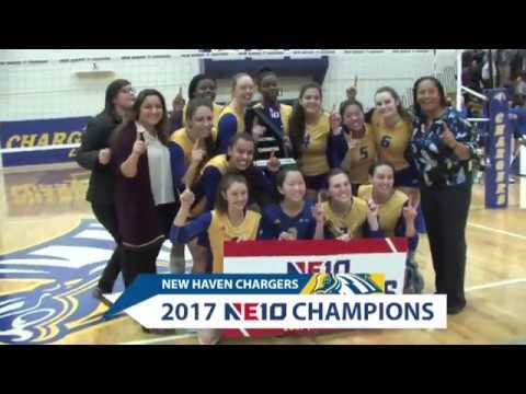 New Haven Women's Volleyball NE10 Championship Highlights