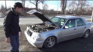 Тюнинг Тайм  Mercedes Benz W124 E500 'Волчок'   Жорик Ревазов Блог