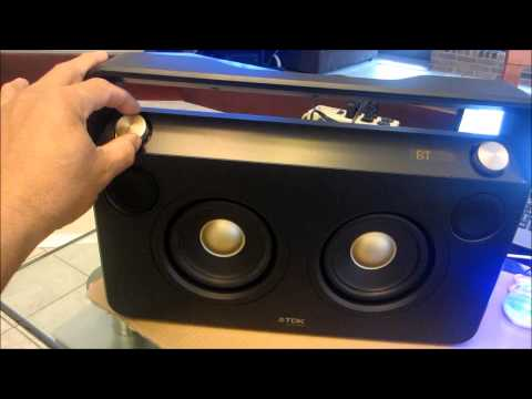 TDK LIFE ON RECORD A73 WIRELESS BOOMBOX