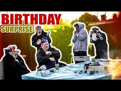 AIRBAG BIRTHDAY CAKE SORRY GRANDAD