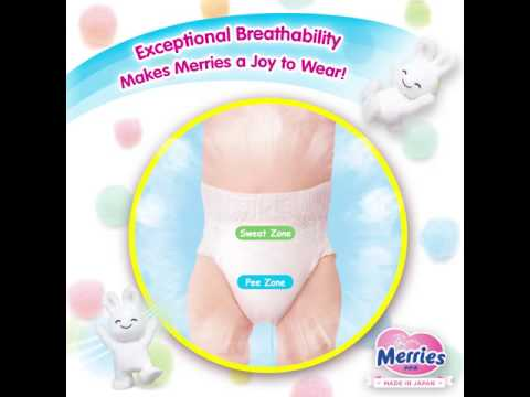 Merries Malaysia - Breathability
