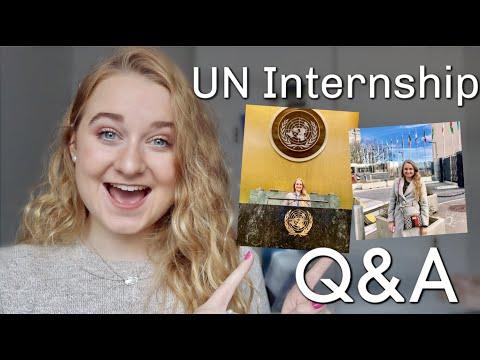 United Nations Internship Q&A