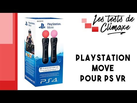 Test Des Playstation Move (motion Controler) Pour Playstation VR