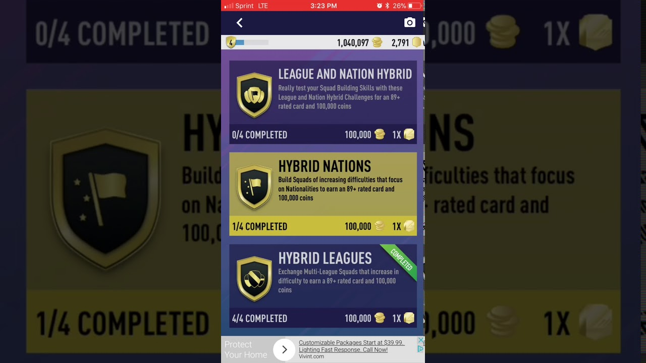 All completed hyprid nations sbc pacybits fut 18 pack for Maryland motor vehicle administration change of address