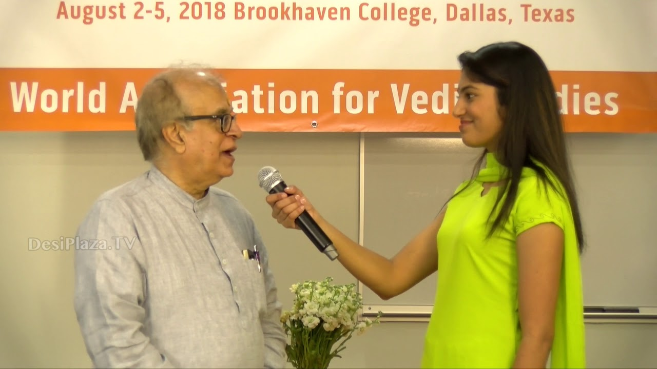 Media Byte / Interview with Mr Rajiv Malhotra at WAVES  Dallas, Texas - 2018.