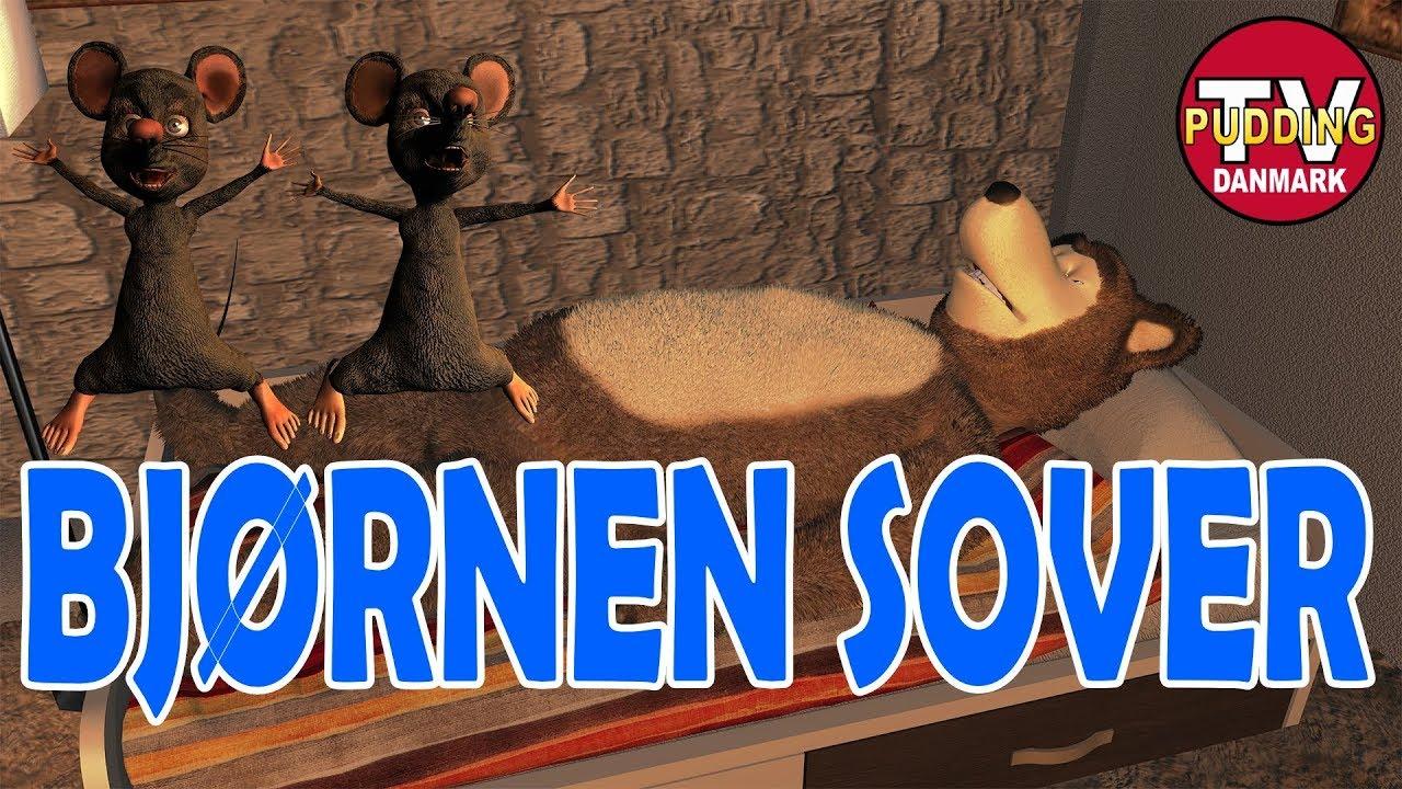 Bjørnen sover - Danske børnesange 3D