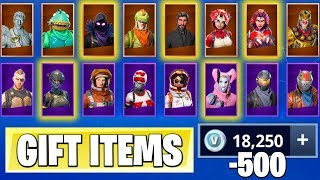 *NEW* Fortnite GIFT Feature! | Trade SKINS with VBUCKS! ( Leaked Info )