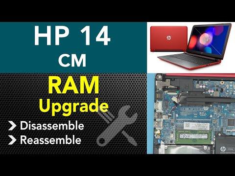 Hp 14 cm - xxxx Ram Upgrade, STEP By STEP !!!