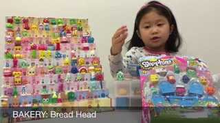 Shopkins Season 1 Diy Display Case & Storage Box - Unboxing 12 Pack & Blind Basket Toy Video