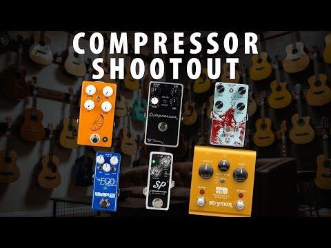 Compressor Shootout: Strymon vs Wampler vs Xotic vs Walrus Audio vs JHS vs Keeley
