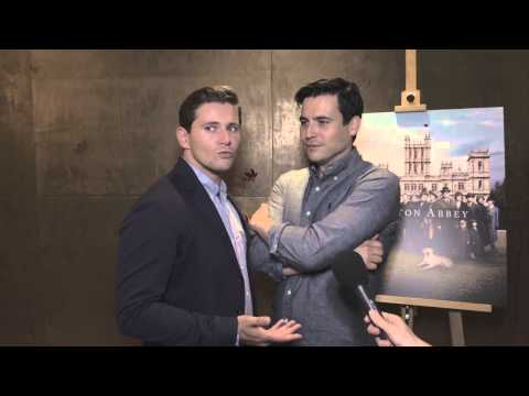 Downton Abbey Series 5 Cast Interviews - Lord Grantham, Lady Mary, Carson, Branson and more