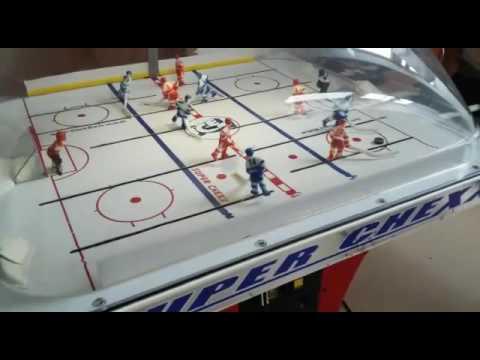 Настольный хоккей Stiga Play Off - YouTube