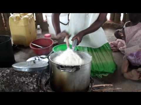 How to cook sadza