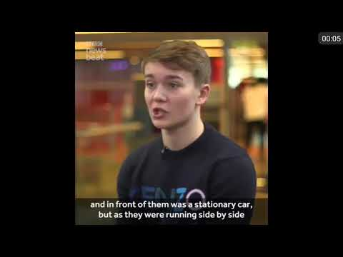 Double amputee Billy Monger still counts himself 'lucky'(Formula 1)