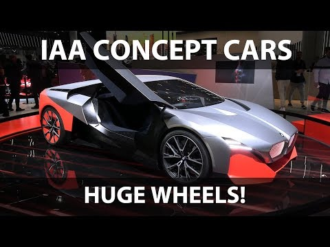 Concept cars at Frankfurt Motor Show 2019