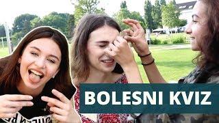 SKORO SMO ZVALE HITNU 😱 | BOLESNI KVIZ #2 | Gloria Berger w/ Two Crazy Beauties