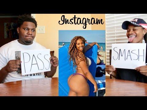 SMASH OR PASS!? (INSTAGRAM MODELS)